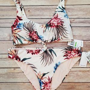 Splendid Retro Fit Bikini Tropical